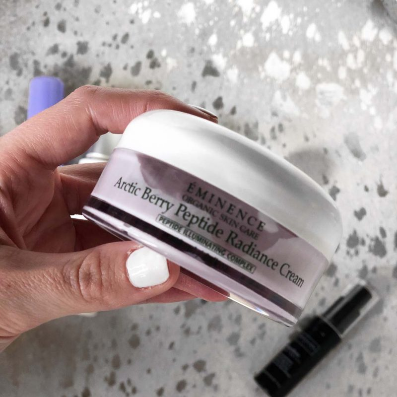 Lauren Nicolle, Fashion and Beauty Blogger, Emenence Arctic Berry Peptide Radience Cream (PM Moisturizer)