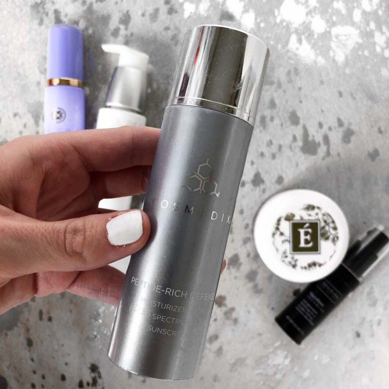 Lauren Nicolle, Fashion and Beauty Blogger, Cosmedix Peptide Rich Defense (AM Moisturizer with SPF)
