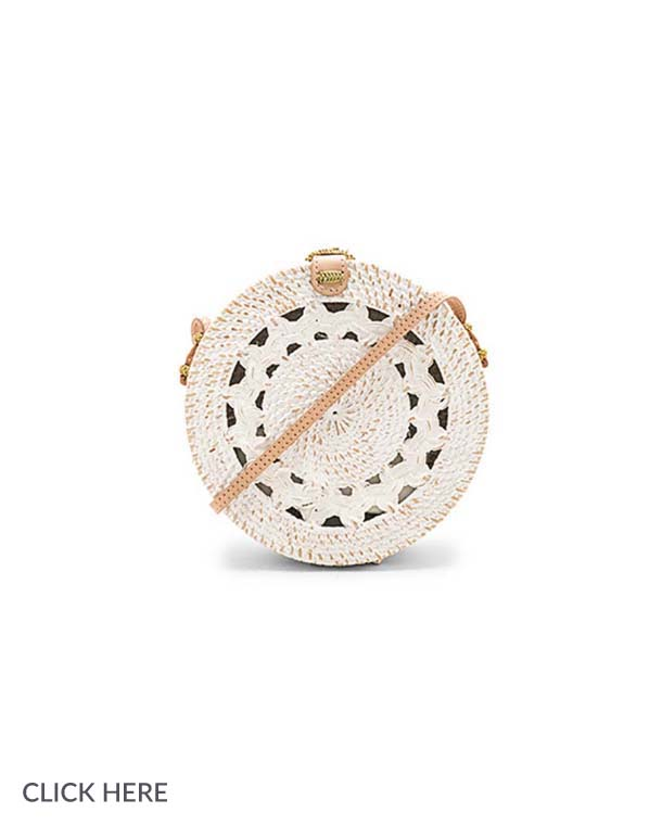 Lauren Nicolle small round bag