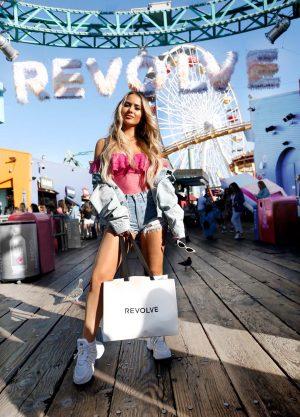 Lauren Nicolle, Revolve Around the World LA Event